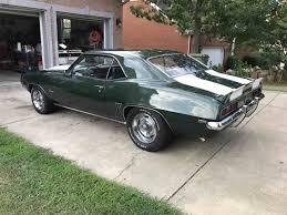 chevy camaro 1969 z28 for sale 1969 chevrolet camaro z28 for sale classiccars com cc 1008177