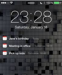 pattern lock screen for ipad display upcoming calendar events on your ios lock screen the ipad