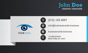 free qr code business card template business cards templates