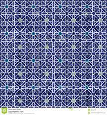 Moorish Design by Moorish Star Seamless Pattern Background Royalty Free Stock Image