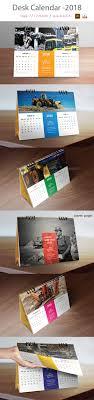 Calendar 2018 Ai Template Desk Calendar 2018 Template Vector Eps Ai Illustrator Calendar