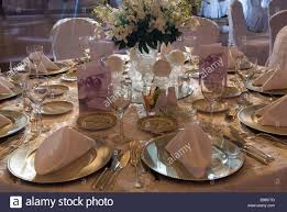 Wedding Reception Table Settings Table Setting For A Wedding Reception Beirut Lebanon