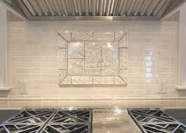 Glass Kitchen Backsplash Tiles Peel And Stick Glass Tile Backsplash Chevron Distressed Wood