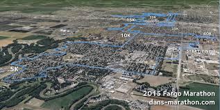 Boston Marathon Route On Google Maps by Fargo Dan U0027s Marathon