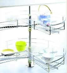 kitchen cabinet accessory kitchen cabinet accessories 270 swivel basket