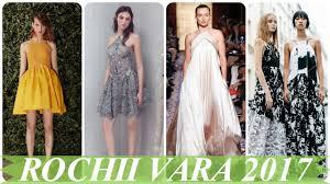 rochii de vara modele de rochii de vara elegante 2017