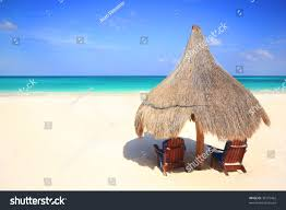 Two Beach Chairs Two Beach Chairs Under Shade Grass Stock Photo 36175462 Shutterstock
