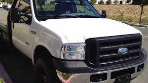 2006 4x4 f250 diesel flat bed manual 6 speed for sale youtube