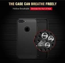 mesh dissipating heat anti fingerprint pc case for iphone 7 plus 8