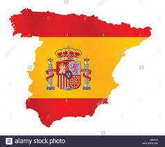 The Map Of Spain by Spain Map Stock Vector Images Alamy