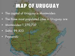Map Of Uruguay Uruguay By Emmakate Wright
