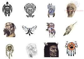 native american tattoo images u0026 designs