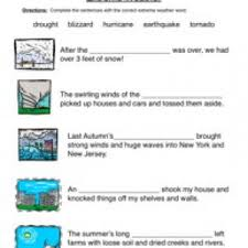 weather worksheets have fun teaching