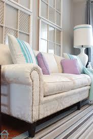 easy sofa makeover and living room mini makeover pretty handy