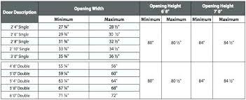 Standard Interior Door Size Average Bedroom Door Width Enchanting Standard Interior Door Sizes