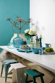 cuisine turquoise plonger dans la couleur turquoise et colorer la maison
