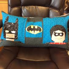 Home Decor Outlet Stores Handmade With A Cause Crossquilt For Her Son Batman Loving Soul I
