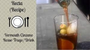 martini rosso vermouth vermouth cinzano rosso trago drink youtube