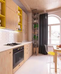 thematic interior design of studio apartment in scandinavian style