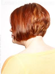 vies of side and back of wavy bob hairstyles stacked bob short hairstyle for older women side view clothes