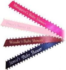 printed ribbons for favors the brat shackpersonalized printed ribbons fast for party favors