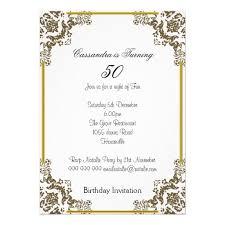 free 50th birthday invitations free printable invitation design