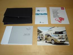 nissan note owners manual handbook c w wallet 2004 2012 1 4