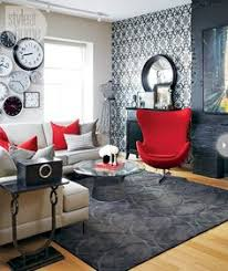 Red And Black Furniture For Living Room by Small Cabin Decorating Ideas And Inspiration Simple Living Room