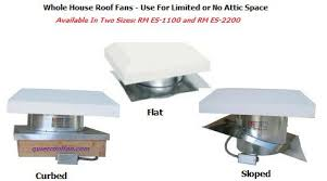 silent whole house fan quietcool roof fan rm es 2200 rm es 1100