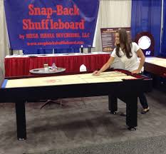 where to buy a snap back shuffleboard table game