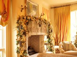 fireplace great christmas mantel decor with christmas garland and