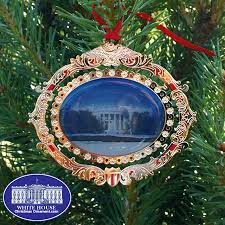 white house south portico bulk ornament