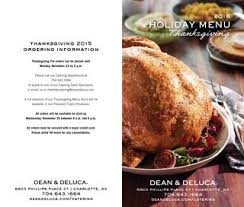 thanksgiving catering menu 2015 by dean deluca issuu