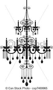 Black Chandelier Clip Art Art The Aquaria