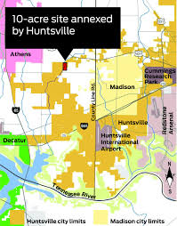 Map Of Alabama Cities Huntsville U0027s Westward Push Has City Of Madison Surrounded On All