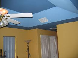 painting tray ceilings with blue colors painting tray ceilings and