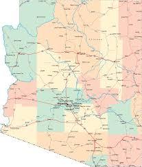 map of the road arizona road map mapsof net
