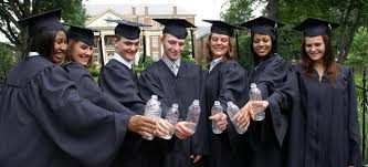 college cap and gown get your diploma in a green cap gown the college juice