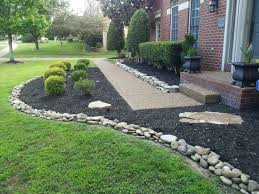 Black Garden Rocks And Rocks For Landscaping