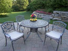 Iron Patio Table Set 51 Patio Furniture Table And Chairs Set Metal Patio Table And