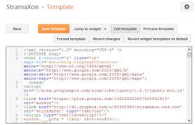 how to add css to your blogger blog stramaxon