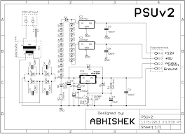 power supplies variable page adjustable supply schematic wiring