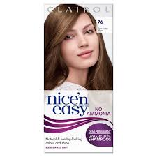 best hair dye without ammonia nice n easy no ammonia hair dye light golden brown 76 from ocado