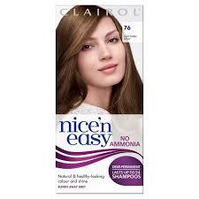 light golden brown hair color nice n easy no ammonia hair dye light golden brown 76 from ocado