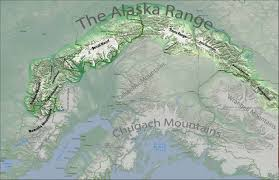 Alaska Map Images by Alaska Range Map The Alaska Range Project