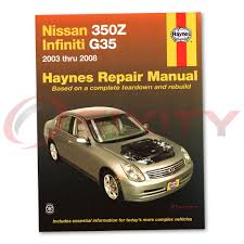 nissan 350z for sale nz nissan 350z haynes repair manual performance grand touring