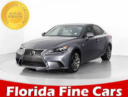 lexus is f sport 2015 used 2015 lexus is 250 f sport sedan for sale in west palm fl