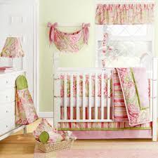Pink And Green Crib Bedding Baby Nursery Breathtaking Image Of Baby Nursery Room