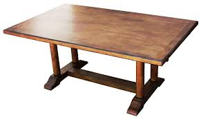Dining Table Style Timeless Rustic Trestle Dining Table Styles