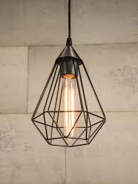 wire cage pendant light black wire cage pendant light depa dani pinterest pendant